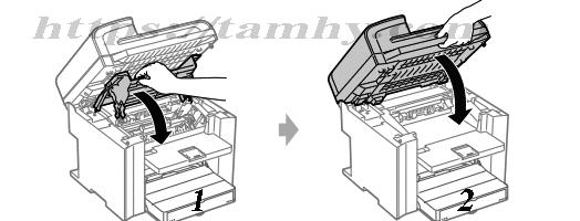 Hướng dẫn Cách thay thế hộp Mực in Canon 328 Tương Thích