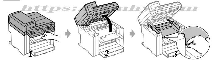 Cách thay thế Mực in Canon 328 Tương Thích