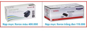 Giá nạp muc may in Xerox tận nơi quận Bình tân