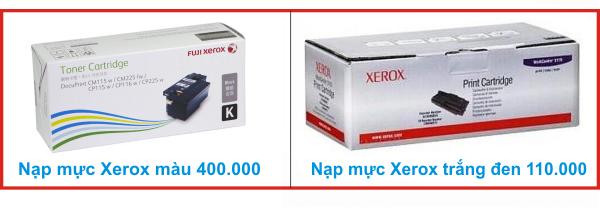 nap muc may in Xerox quận tân phú