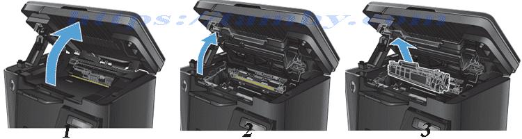 Cách thay Hộp Mực máy in Hp M127NF Hiệu THC 83A Chất Lượng