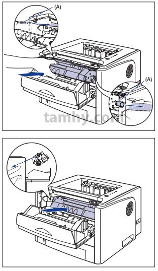 Thay thế Hộp Mực máy in Canon 3300 bước 4