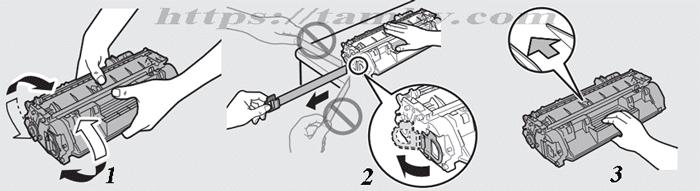 Hướng dẫn cách thay Hộp Mực máy in Canon MF 5840DN Tương Thích