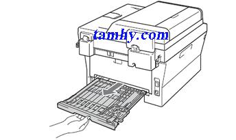 lỗi máy in bị kẹt giấy ở khay đảo