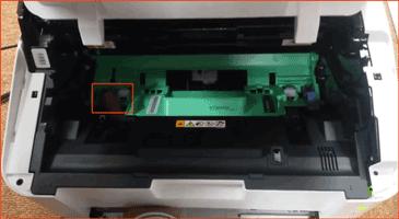 reset máy in xerox p115