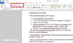 chuyển đổi font từ vni sang unicode 6