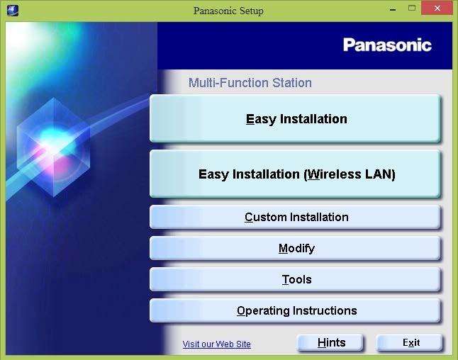 hướng dẫn cài đặt máy in panaosnic kx-mb2120