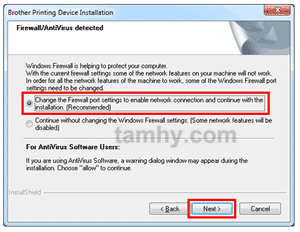 Hướng dẫn cài đặt máy in Brother 1201W qua Wifi không cần cáp USB