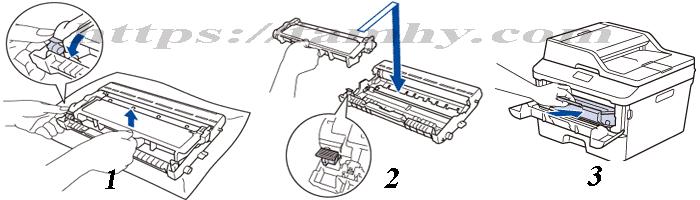 Hướng dẫn thay hộp Mực máy in Xerox DocuPrint P225d
